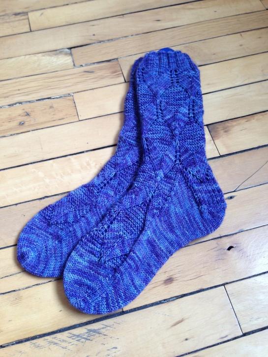 Irisberry socks